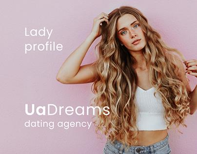 UaDreams - Lady profile