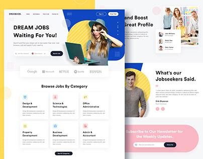 Job Finder Landing Page