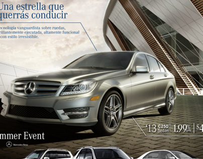 Garage isla verde promo on behance for Mercedes benz san juan puerto rico