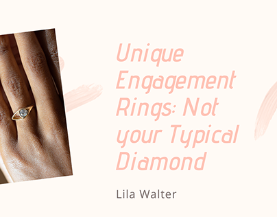 Unique Engagement Rings: Not your Typical Diamond