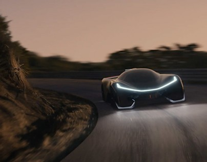 Faraday Future Art Direction and Website