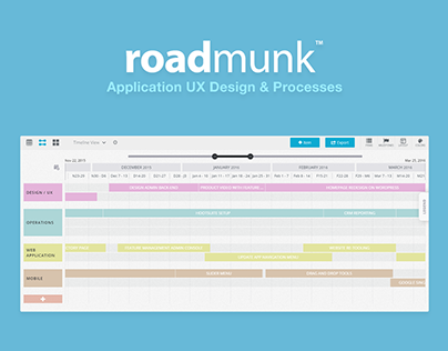 Roadmunk | Application UX Design