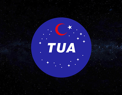 Logo concept for TUA, Turkish Space Agency