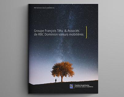 Brochure RBC Groupe François Têtu & Associés