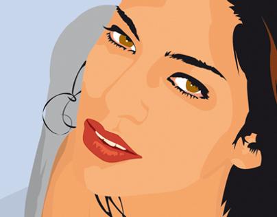 Portraits - Vector Illustrations