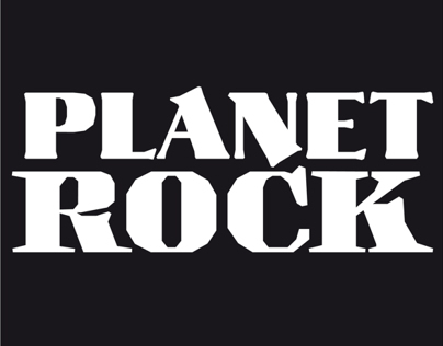 Planet Rock Lettering