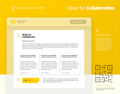 Research Center | Web Design UI /UX