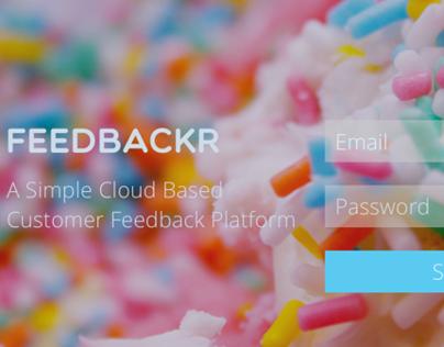 Customer Feedback App Concept - Tablet UI