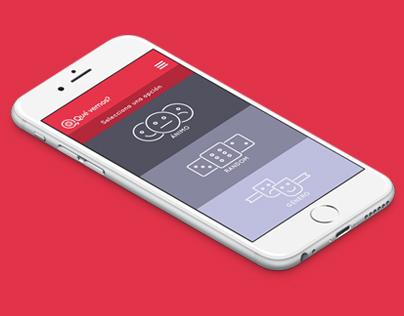 Qué vemos | App