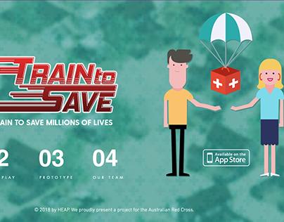 Train to Save (Australia Red Cross)