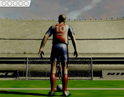 R&D Concept: Penalty Shoot-out using Microsoft Kinect