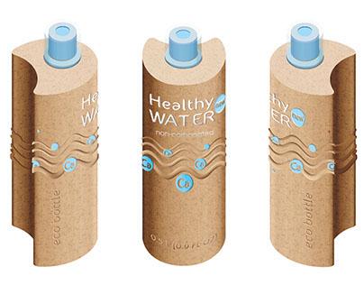 Healthy WATER | eco packaging design