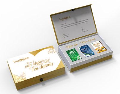 Biolab Gift box Packaging design