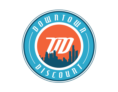 Downtown Discount Logos