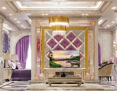 Classic Master Bedroom Interior - Part 02