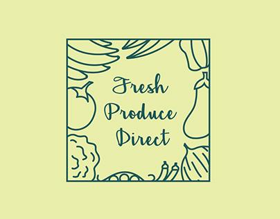 Fresh Produce Direct ~ Organic Farm Brand Identity