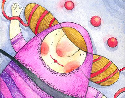 Ilustracja dziecięca - cykl Zofka