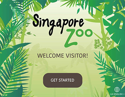 Singapore Zoo Kiosk & Handheld App