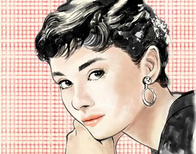 Audrey Hepburn Wannabe