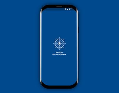 KubiRub Company Service android UI-UX