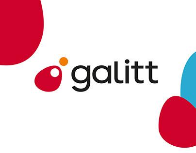 Galitt - monde bancaire & identité visuelle