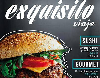 """Revista """"Exquisito Viaje""""-Proyecto"""
