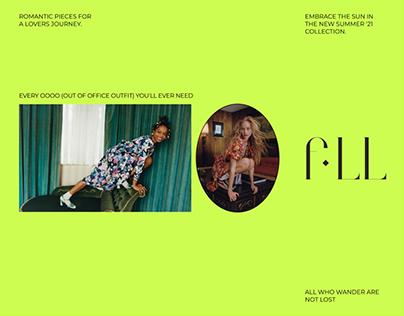 For Love & Lemons | E-commerce website redesign