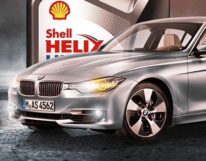 Shell Oil Billboard