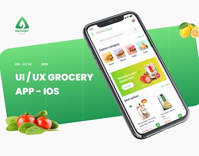UI / UX GROCERY APP - IOS