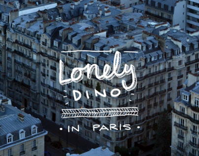 Lonely Dino - in Paris
