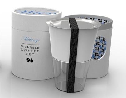 Modern Viennese Coffee Set