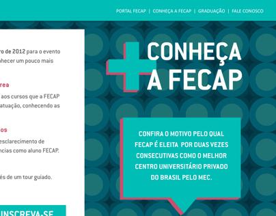 Campanha Conheça a FECAP