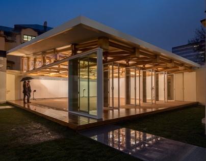 Paper pavilion