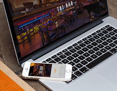 Website Responsivo - TAJ Bar