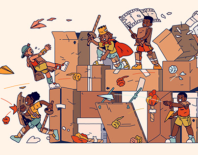 Cardboard Castle Brawl
