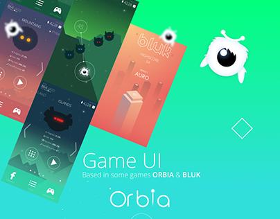 GAME UI ORBIA & BLUK