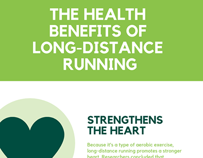 Long-Distance Running Infographic | Ron Sandack