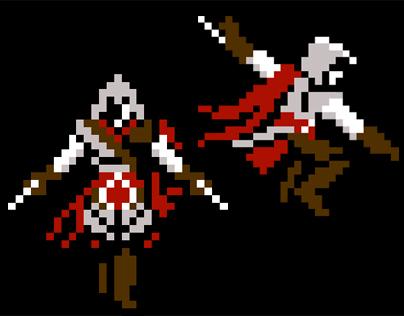 Pixel Art - Assassin's Creed 2: Ezio