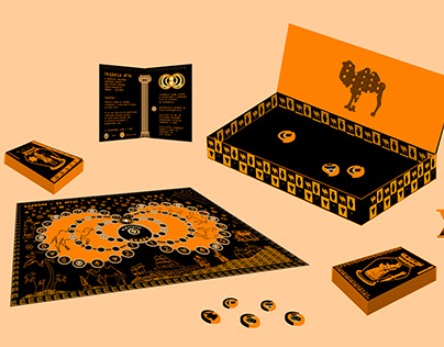 Board game based on the book Paulo Coelho - The Alchemi