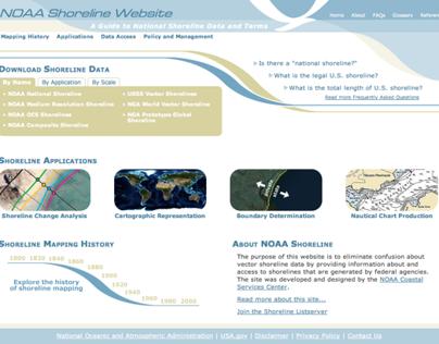NOAA Shoreline