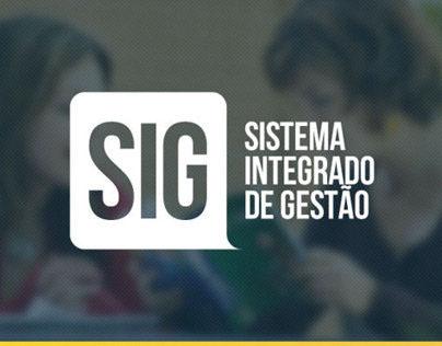 SIG - Sistema Integrado de Gestão | WebSite / Brand