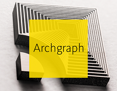 Logo - full stationery design for Archgraph