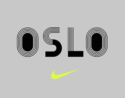 Nike custom typeface