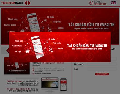 TECHCOMBANK iWEALTH | LANDING PAGE