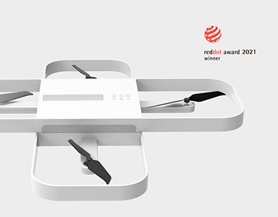 Rotate and Fly! Red Dot Concept Design Award 2021