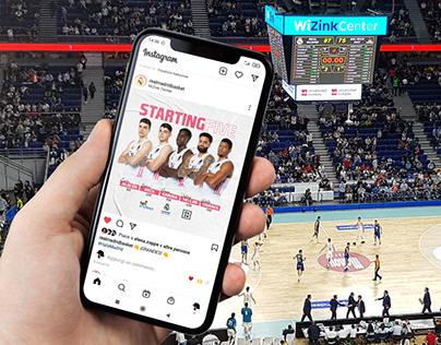 Real Madrid Baloncesto • Social Media Rebranding