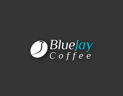 """Logo Design """"BlueJay Coffee"""""""