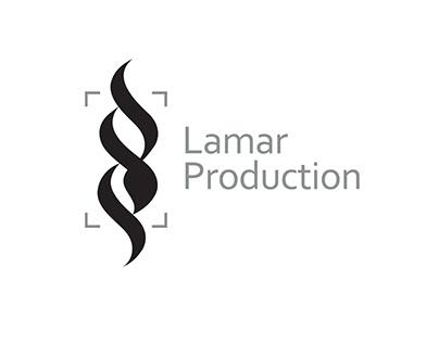 Lamar Production logo I Arabic Moden Calligraphy