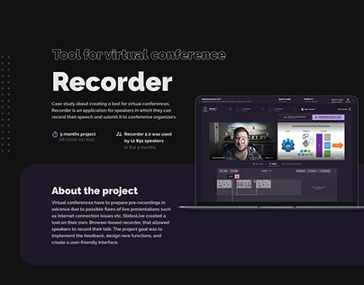 SlidesLive Recorder - Tool for virtual conferences