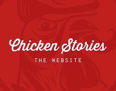 CHICKEN STORIES / Website